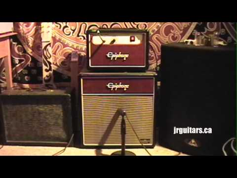 EPIPHONE VALVE JUNIOR Demo