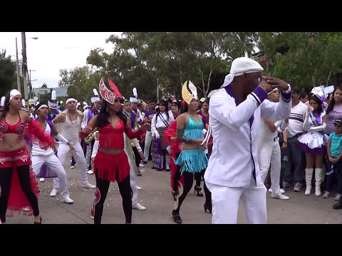 Julissa Betanco, desfiles 15 de septiembre 2012