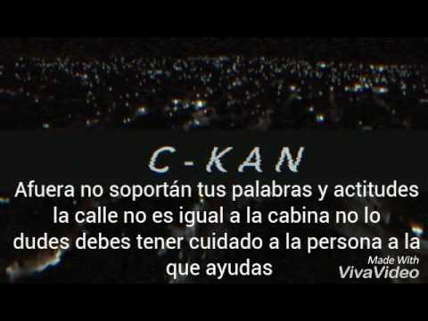MASTERED TRAS ANDO C - KAN FT. REFYE Y RUFF [Video+Letra]