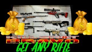 How To Get Any Rifle In Kill Shot Bravo - No Hack No Cheat - Online Game - Ryan Games 2017