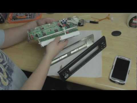 BMW X5 and 5 series (e53) (e39) Radio Screen LCD repair - Part 3 - Reassembly