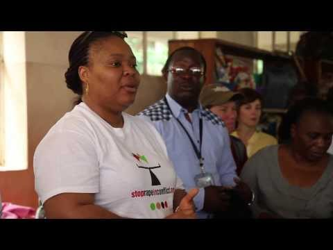 Congo Women Speak: Leymah Gbowee at Panzi Hospital