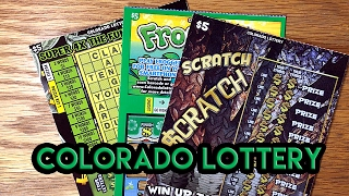 Scratch $cratch, Frogger & Super 4X Crossword - Colorado Lottery