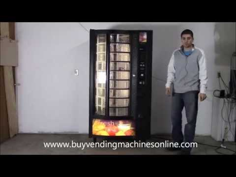 Crane National 432D Cold food vending machine for sale free shipping surevend