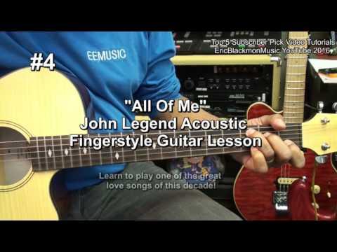 TOP 5 Guitar Tutorial Video Subscriber Picks From EricBlackmonMusic FunkGuitarGuru Funk