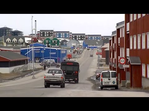 Nuuk - the largest city of Greenland [HD]