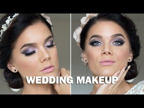 Wedding Makeup (with subs) - Linda Hallberg Makeup Tutorials