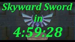 Skyward Sword Any% Speedrun in 4:59:28