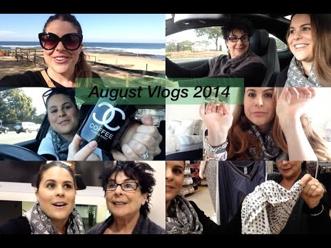 August Vlogs 2014