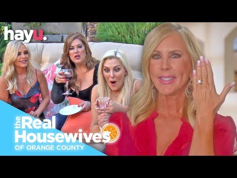 Vicki Gunvalson Gets Engaged! | Season 14 | Real Housewives Of Orange County