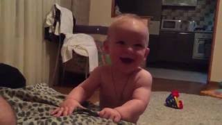 Baby Laughing when Mom says No