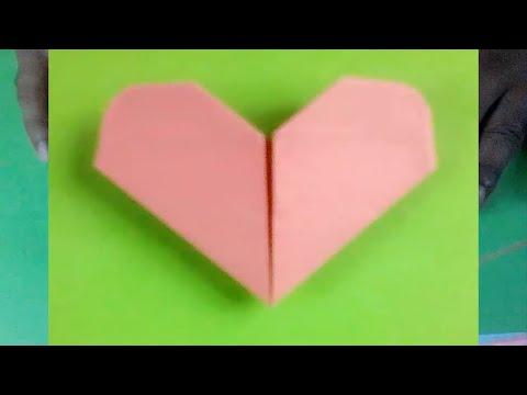 Origami Herz Box Basteln Mit Papier Origami Briefumschlag