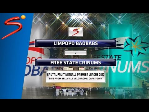 Brutal Fruit Netball Premier League 2017 - Limpopo Boababs vs Free State Crinums