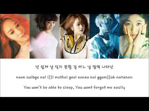 F(x) - Rum Pum Pum Pum (첫 사랑니) [hangul romanization english] Color & Picture Coded Hd video