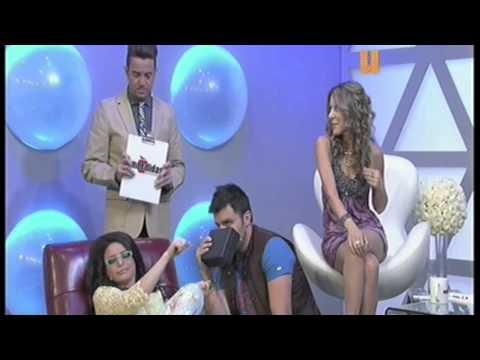 Oscar Pertusa con Violeta Isfel en