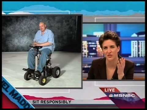 Rachel Maddow On The Motorized Bar Stool Accident (HQ)