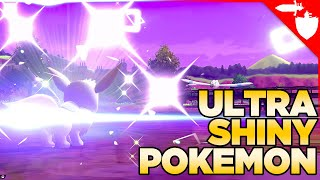 What Are ULTRA Shiny / Shattered Shiny / Square Shiny Pokemon in Pokemon Sword and Shield.