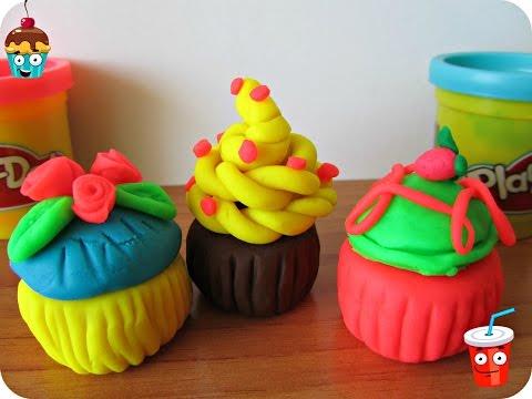 Как из пластилина сделать пирожное