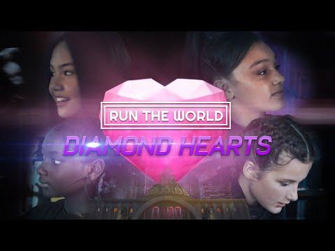 Run The World - Diamond Hearts (official music video)