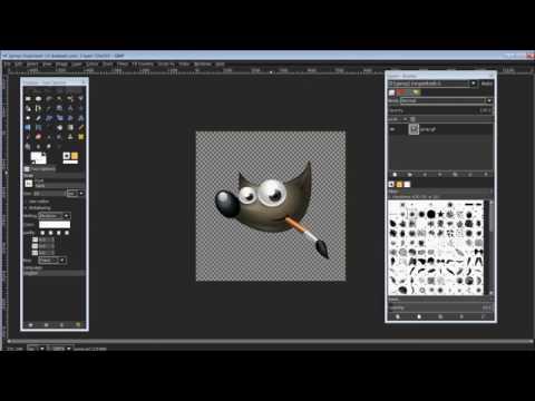 GIMP 2.8 Create an Animation and Export as an AVI Video (Method 1)