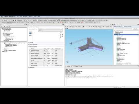Simulación de aplicaciones de radiofrecuencia en procesos multifísicos