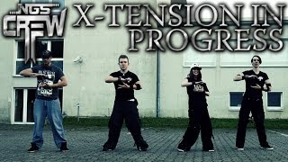 "NGS - ""X-Tension In Progress"" Freestyle & Choreo [Industrial/Electronic Dance]"