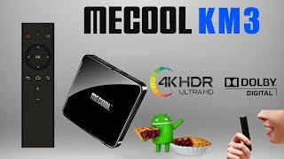 Mecool KM3 Amlogic S905X2 Certified Android TV 9.0 Pie TV Box Review