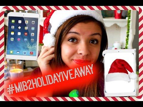 Win an iPad Mini +MORE! Holiday Giveaway 2014