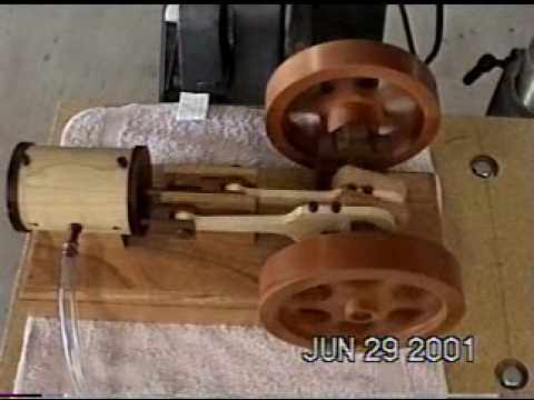 plans for wooden engine