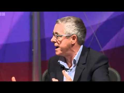 Griff Rhys Jones explains the banking crisis
