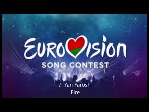 Eurovision 2020: Belarus My Top 12
