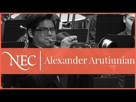 "Elmer Churampi, NEC Wind Ensemble: Arutiunian ""Concerto"""