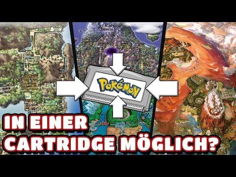 Passen alle Regionen von Pokemon in eine einizige Cartridge?