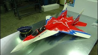 SebArt Freewing MIG-29 3D V.2 RED STAR EDF JET WITH VEKTOR CONTROL Unboxing