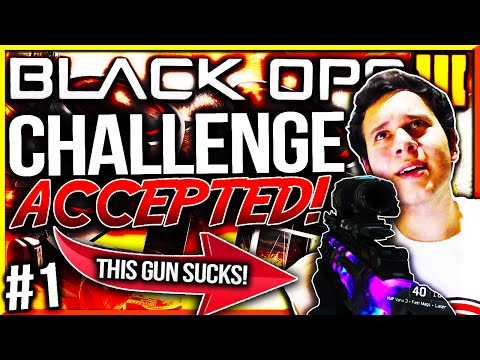 """BLACK OPS 3 - """"VMP VARIX SIGHT"""" NUCLEAR! - Challenge Accepted #1! (YOUR Challenge WILL be Completed)"""