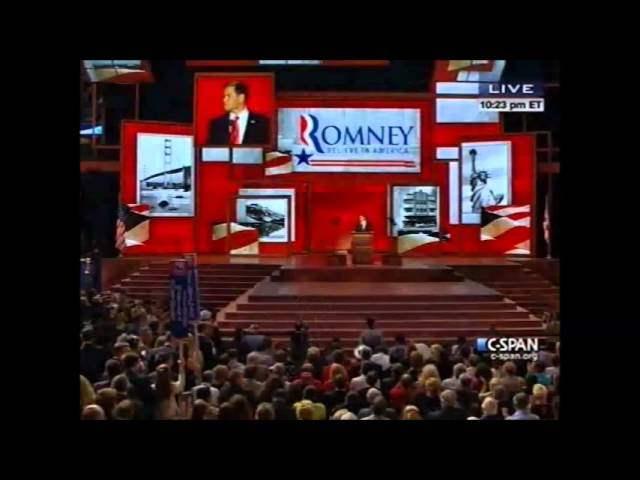 Saving The American Miracle - GOP Convention 2012