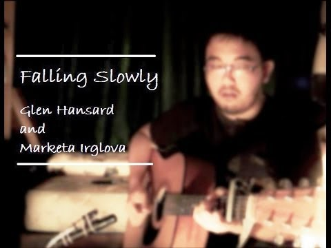 Glen Hansard ft. Marketa Irglova - Falling Slowly  (cover | TheNylonTones | w/chords and lyrics)