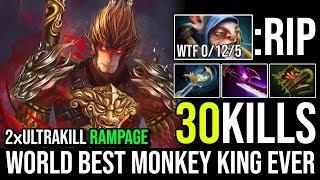 World Best Monkey King Ever - Epic Pro Mid MK RAMPAGE 2xUltrakill 30Kills in 22Min By Jimme Dota 2