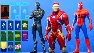 avengers endgame skins concepts fortnite battle royale - skin fortnite black panther