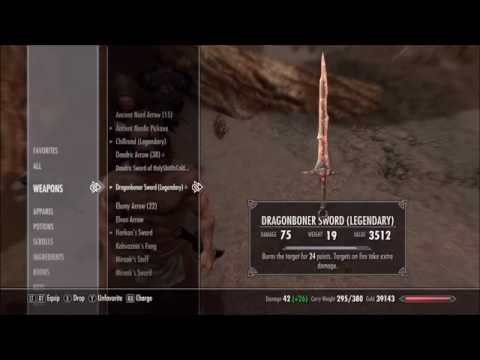 Skyrim Dragonborn Original Item Duplication Glitch