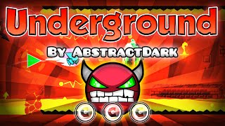2.1 FANMADE! Geometry Dash [2.0] (Demon) - Underground by AbstractDark | GuitarHeroStyles