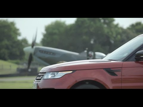 All-new Range Rover Sport vs. Vickers Supermarine Spitfire Challenge