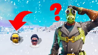 We Were HIDING In The SNOW! (Fortnite Hide And Seek)