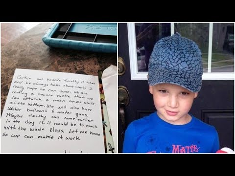 He Came Home Carrying a Birthday Invitation. When His Mom Read It She Broke Down in Tears