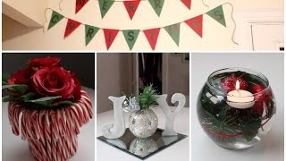 DIY Holiday Room Decor Ideas & Christmas Decorations