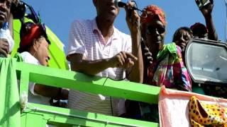 Michel Martelly Jacmel 2 27 2011