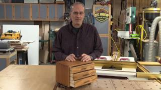 Guy Dunlap cuts Dovetails with the INCRA LS Positioner