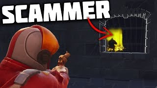 DUMBEST Scammer Gets Scammed! - Fortnite Save The World Scammer Xbox