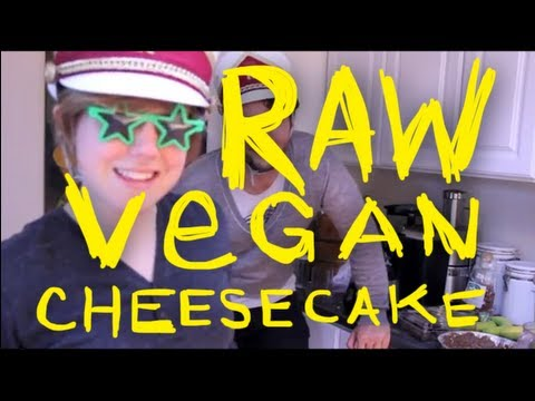 My Drunk Kitchen: Raw Vegan Cheesecake