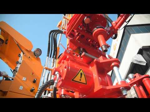 MULTIPURPOSE DRILLING RIG MI20 for WATER WELLS and MINERAL EXPLORATION
